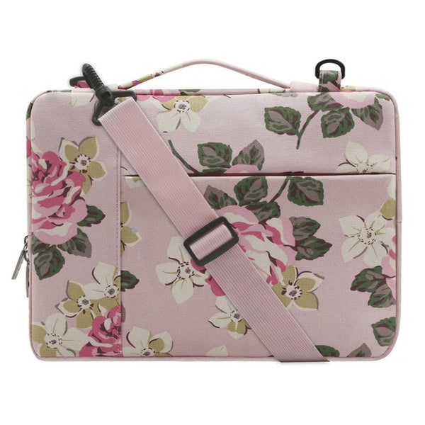 The Charlotte Laptop Case - Rose Pink