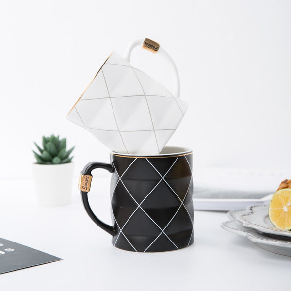 Black and White Affair Coffee Mug Collection