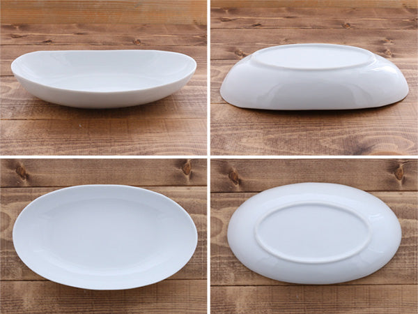 STUDIO BASIC Original Oval Shaped Pasta Bowl Set of 2
