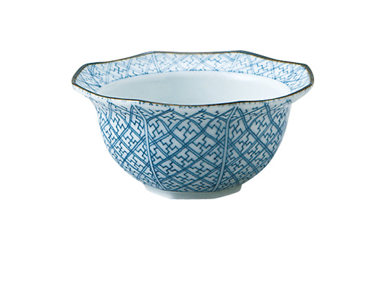 Kobachi Blue and White Appetizer Bowl Set of 4