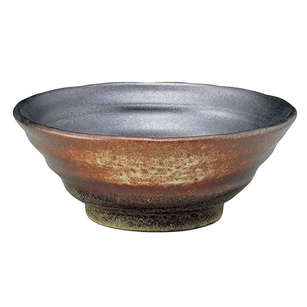 43 oz Ramen, Donburi Bowl Artistic Brown Color with Uneven Surface