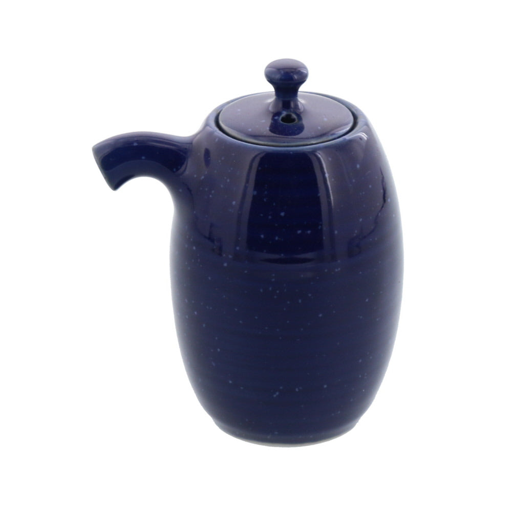 Blue Porcelain Sauce and Oil Dispenser Bottle, 3.4 oz (100 cc) - Starry Sky