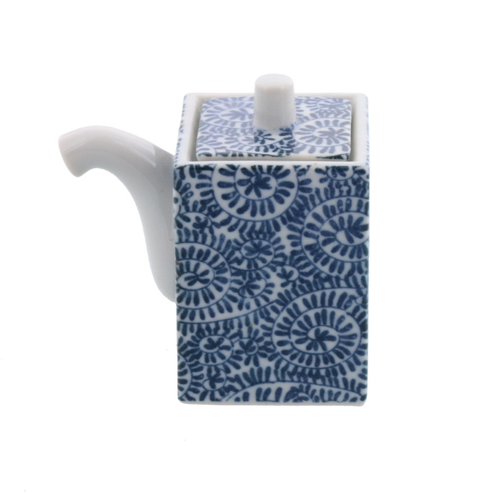 Square Shaped Oil and Sauce Dispenser Bottle - Tako Karakusa