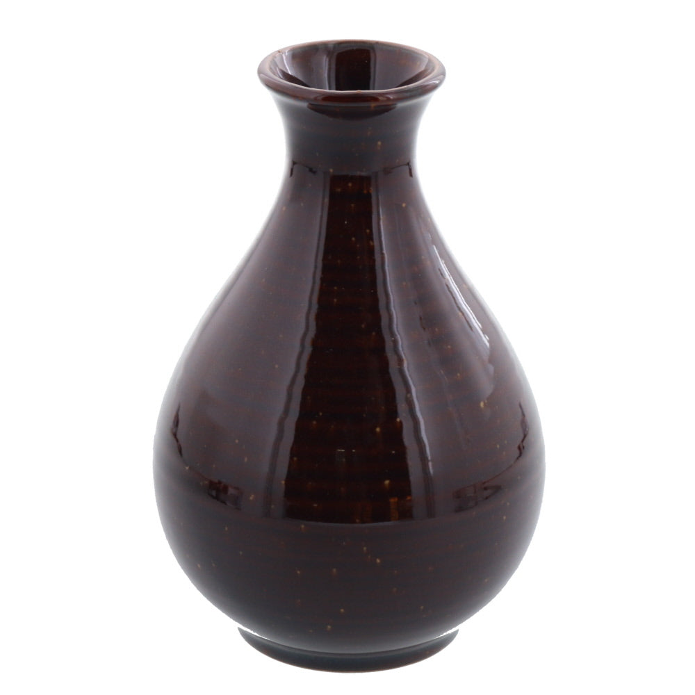 Porcelain Sake Bottle Tokkuri 12 fl oz 360cc - Gold Crystal