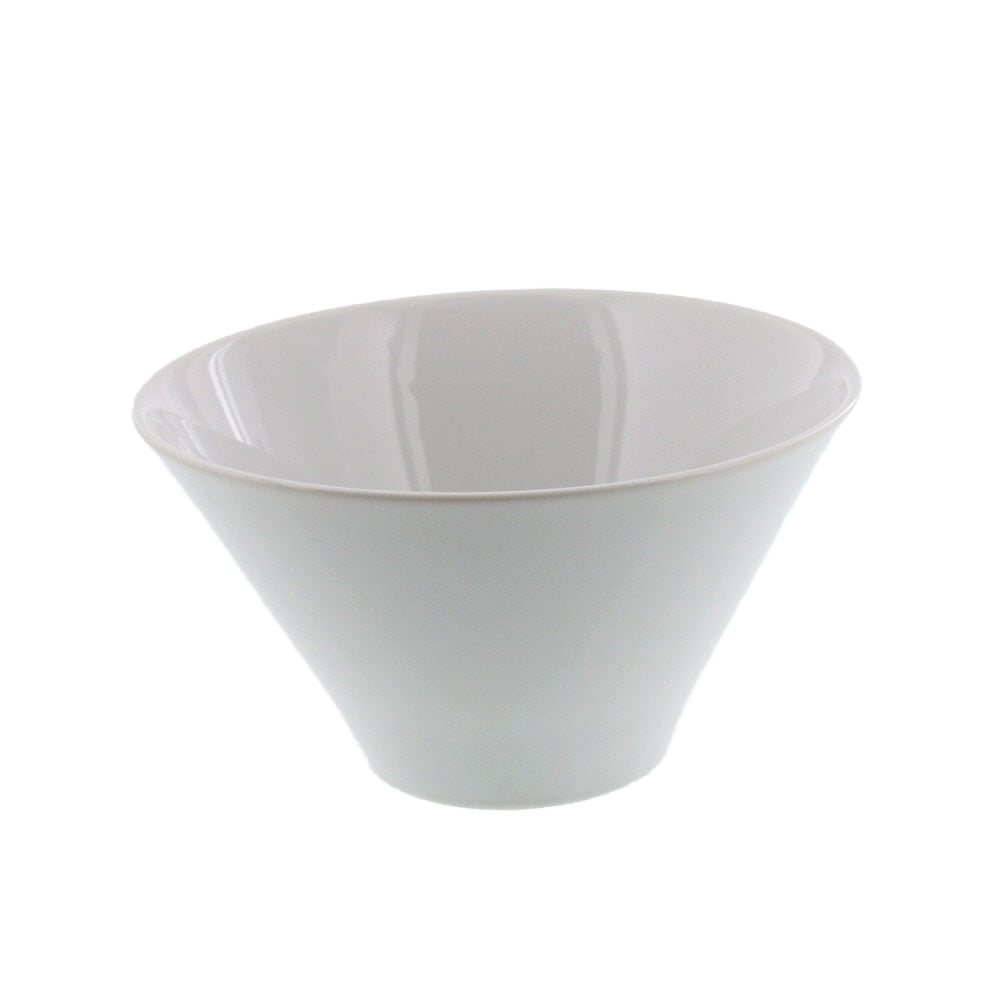 26 oz Small White Trapezoidal Bowl
