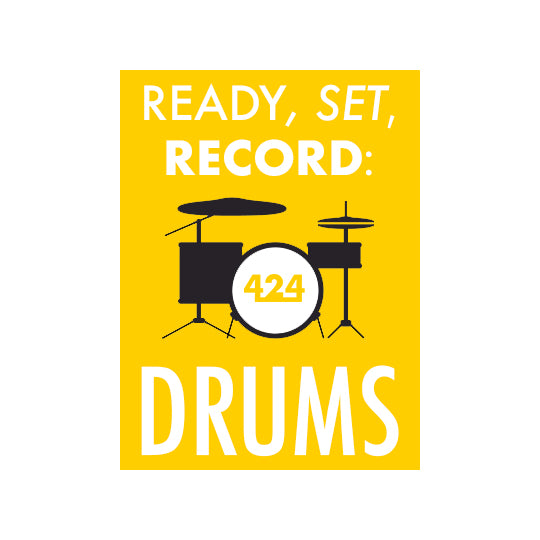 Ready, Set, Record: Drums (Video Course)