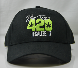 Peter Tosh 420 Cap- Black