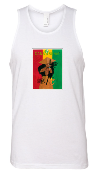 Cliff Thompson Samurai Tank -  White