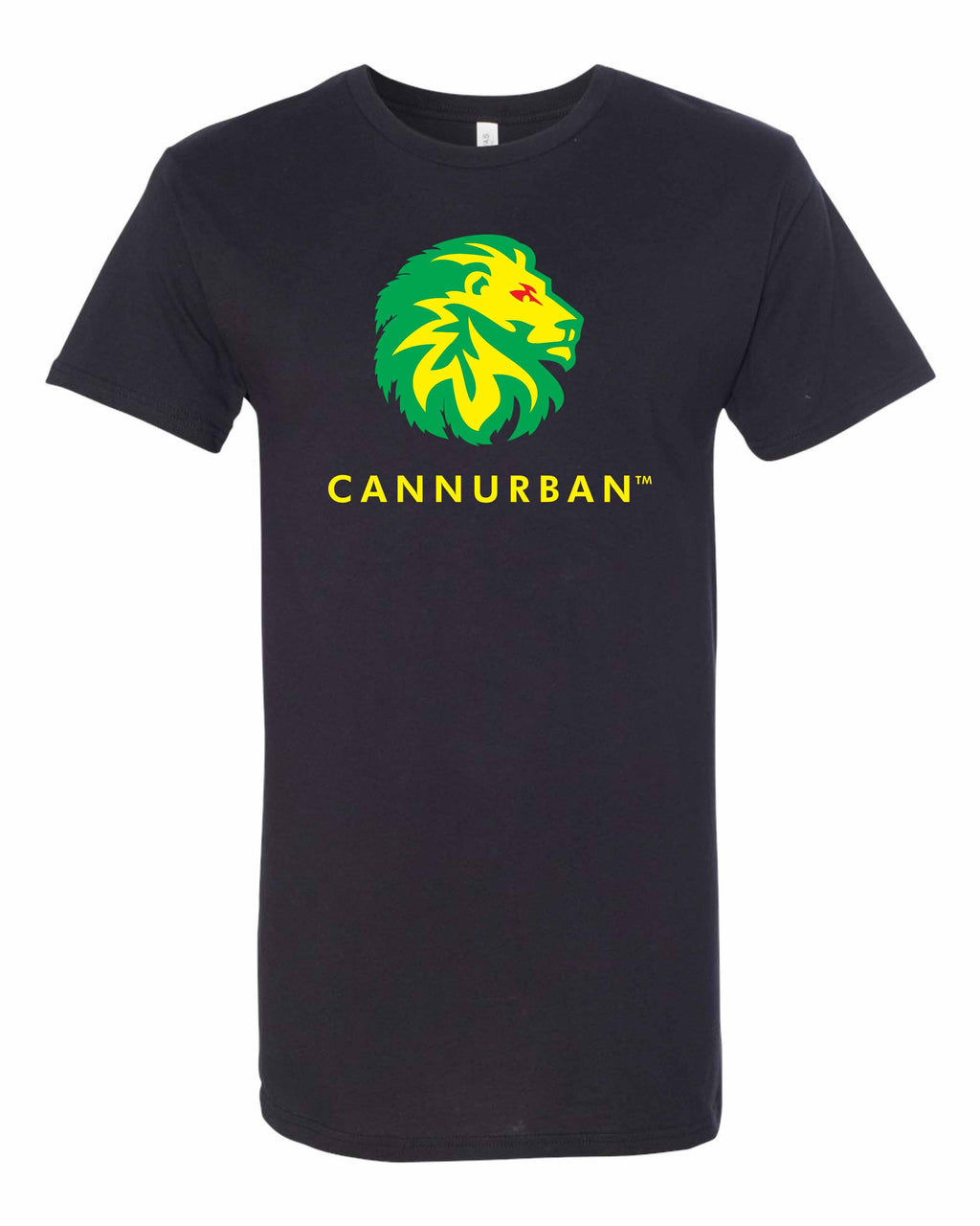 Cannurban Rasta Lion Logo T-shirt