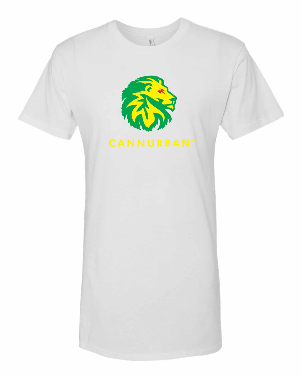 Cannurban Rasta Lion White Tee