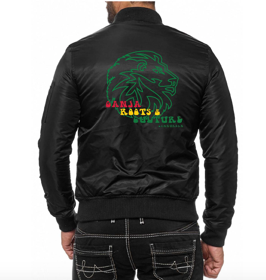 Cannurban Ganja Roots & Culture Bomber Jacket