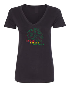 Ladies Cannurban Ganja Roots & Culture Logo T-shirt