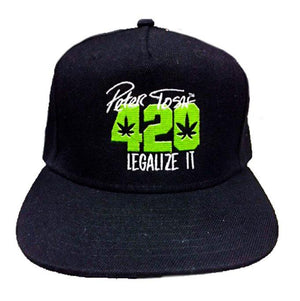 Peter Tosh 420 Flatbill - Black