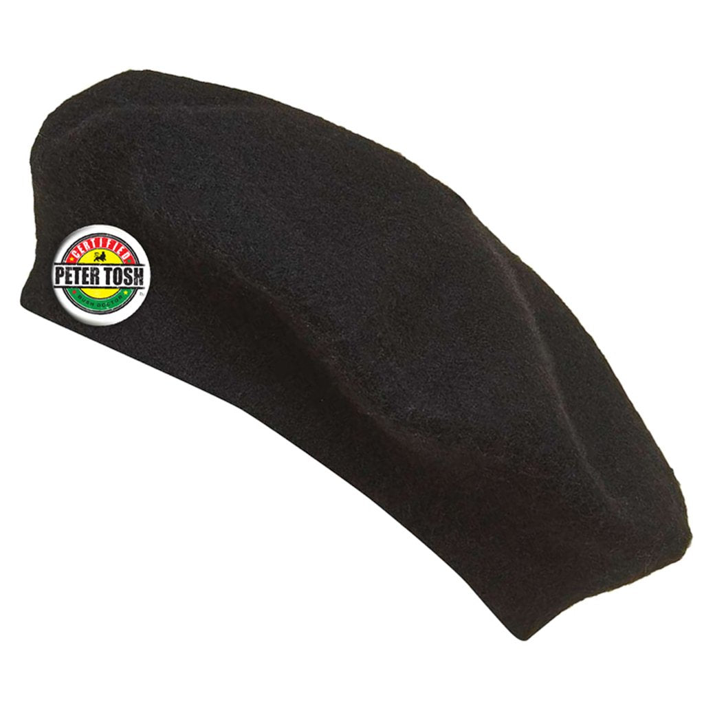 Official Peter Tosh Beret - Black