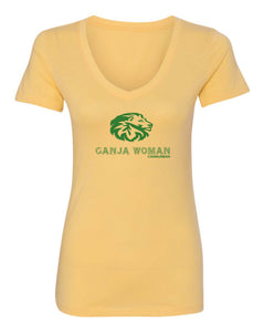 Cannurban Ganja Woman Logo T-shirt