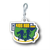 Kids Run the Nation Backpack Tag - Single Tag
