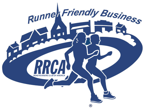Runner Friendly Business Static Cling Decal