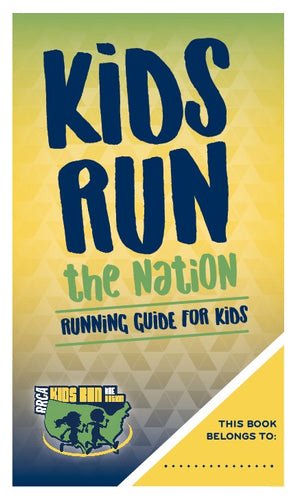 Kids Run the Nation Running Guide for Kids - Bundle of 100