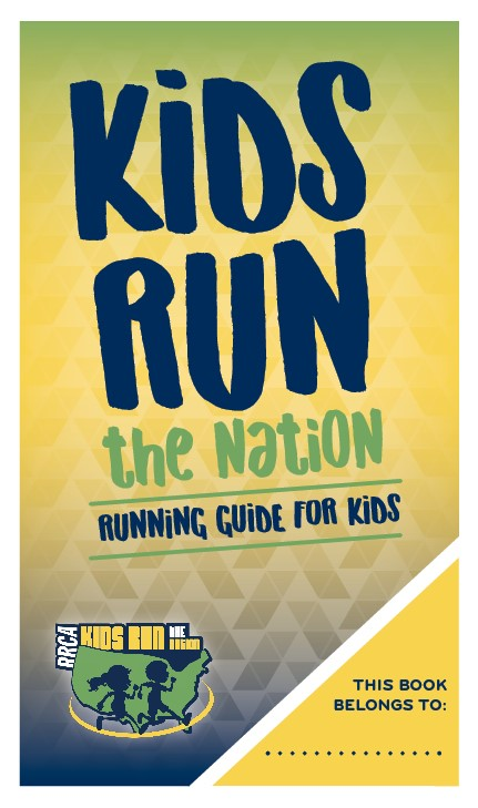 Kids Run the Nation Running Guide for Kids - Single Booklet