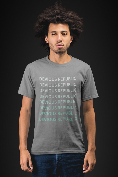 Men's Light Cotton Graphic Tee | Repeat - Devious Republic | DVSREP