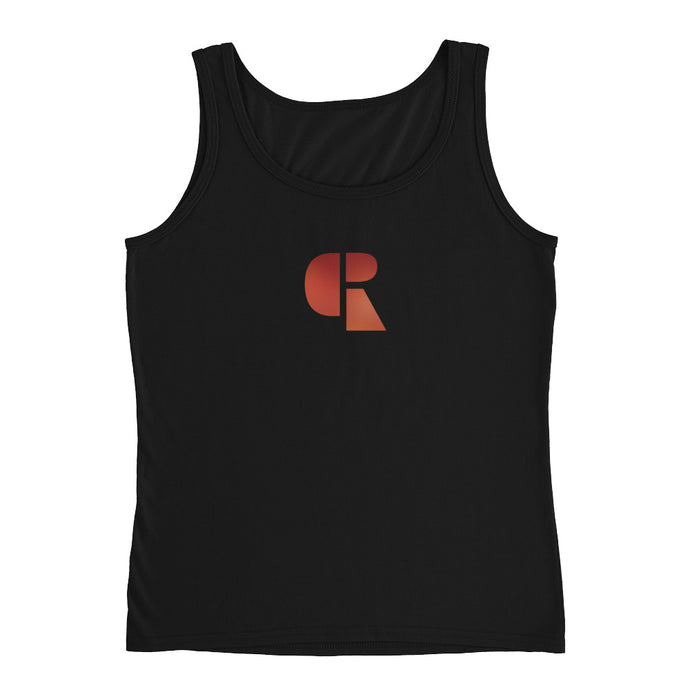 Women's Soft Cotton Tank Top | Center Logo - Devious Republic | DVSREP