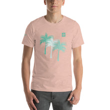 Load image into Gallery viewer, Men's Light Cotton Graphic Tee | Palm Tree | Mint - Devious Republic | DVSREP