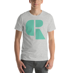 Men's Light Cotton Graphic Tee | Oversized Logo | Mint - Devious Republic | DVSREP