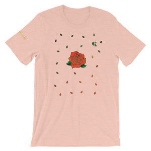 Men's Light Cotton Graphic Tee | Rose Elaborate - Devious Republic | DVSREP