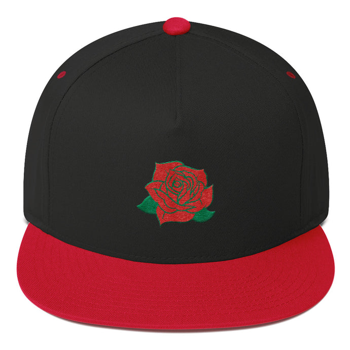 Devious Republic Rose Flat Bill Cap - Devious Republic