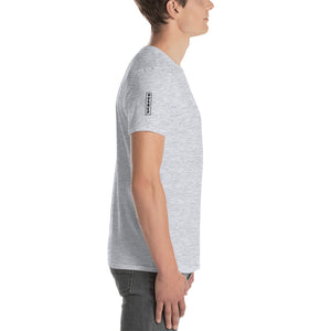 Men's Soft Cotton T-Shirt | Vertical Logo - Devious Republic | DVSREP