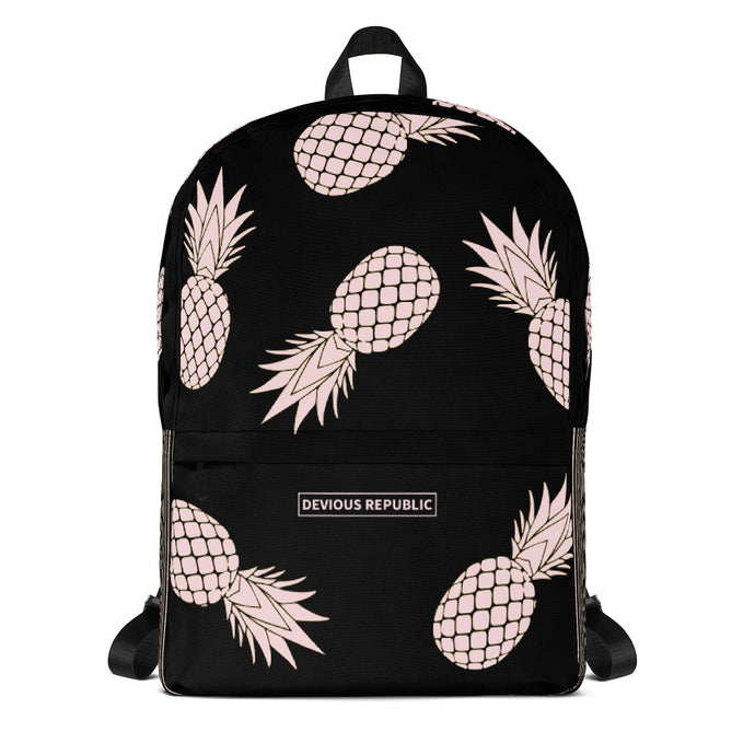 Canvas Backpack | Pineapple | Pink - Devious Republic | DVSREP