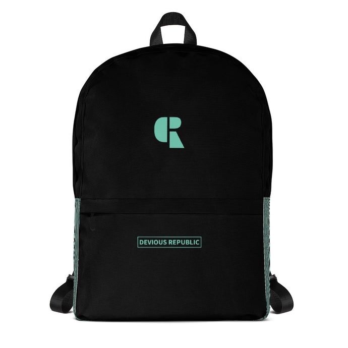 Canvas Backpack | DVSREP | Mint - Devious Republic | DVSREP