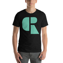 Load image into Gallery viewer, Men's Light Cotton Graphic Tee | Oversized Logo | Mint - Devious Republic | DVSREP