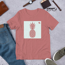 Load image into Gallery viewer, Men's Light Cotton Graphic Tee | Pineapple | Mint - Devious Republic | DVSREP