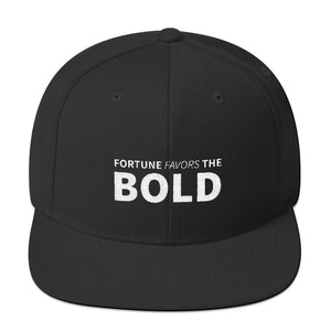 Snapback | Fortune Favors the Bold | White - Devious Republic | DVSREP