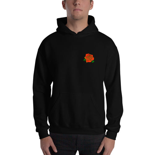 lit.™ Men's Rose Hooded Sweatshirt - Devious Republic