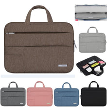Load image into Gallery viewer, Sleek Nylon Laptop Bag - Devious Republic