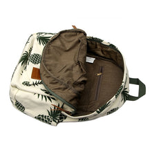 Load image into Gallery viewer, Canvas Backpack | Pineapple | Vintage - Devious Republic | DVSREP