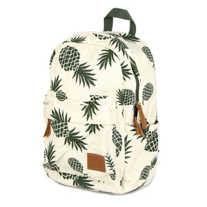 Pineapple Canvas Backpack - Devious Republic