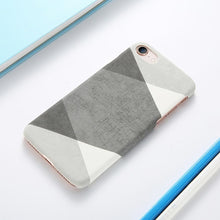 Load image into Gallery viewer, iPhone Case | Marble & Wood Fusion (Textured) - Devious Republic | DVSREP