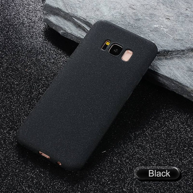 Matte Silicone Case for Samsung Galaxy S8, S9, A8, J3, J5, J7, A3, A5, S6, S7, Edge Note 8 - Devious Republic