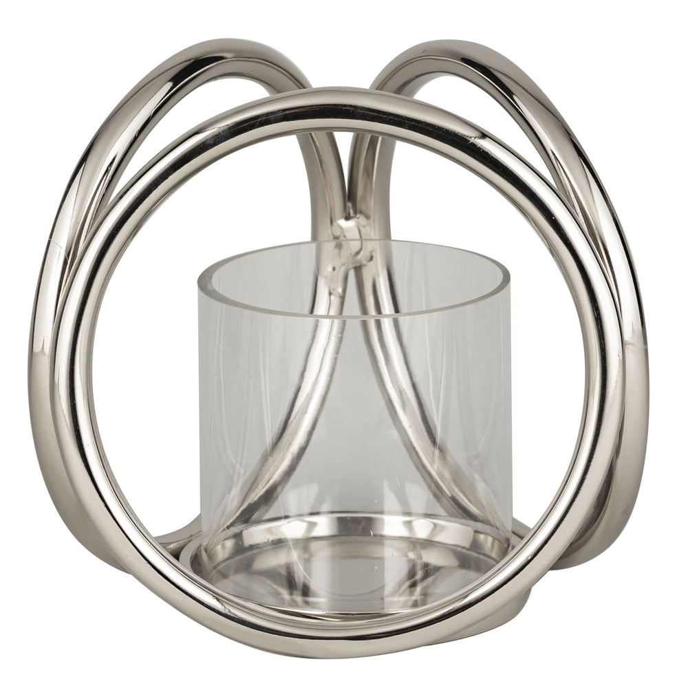 Farrah Three Ring Pillar Candle Holder