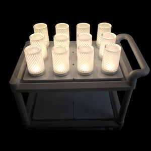 LED Lamp Charging Trolley