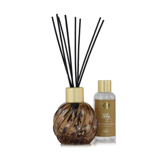Diffuser Gift Set - Amber & Honeyed Woods