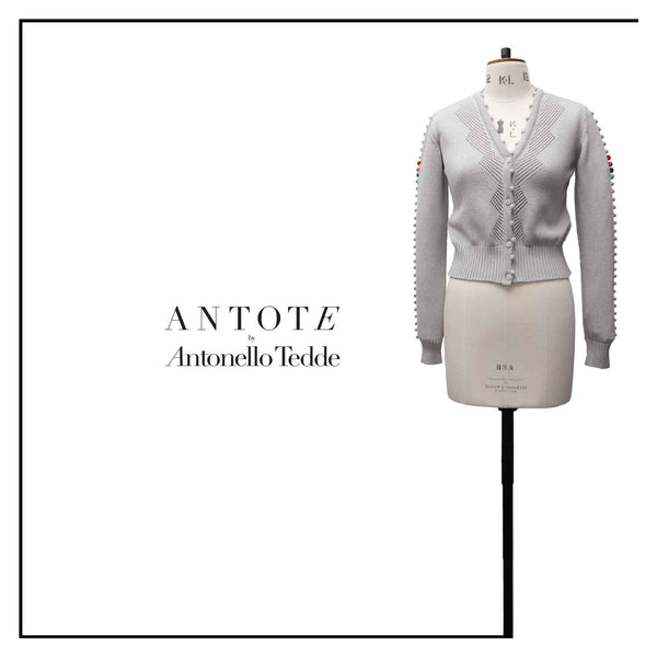 ANTOTE by Antonello Tedde with handmade trims.