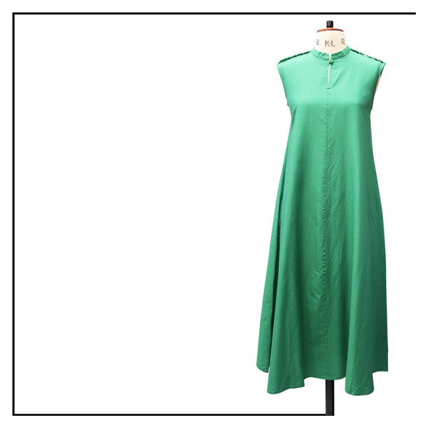ANTOTE_ARDU Green Dress