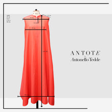 Load image into Gallery viewer, RED DRESS ANTOTE_HAND-WOVEN DETAILS size