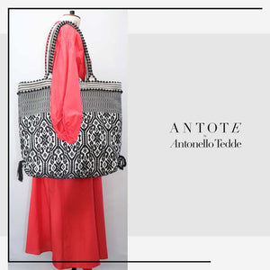 ANTOTE_MURTA  Red Wrap Dress