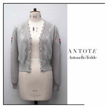 Load image into Gallery viewer, ANTOTE_OLIA Knitted Cardigan Grey