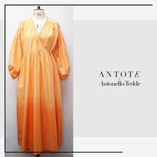 Load image into Gallery viewer, ANTOTE_MURTA Dip Dye Orange Wrap Dress